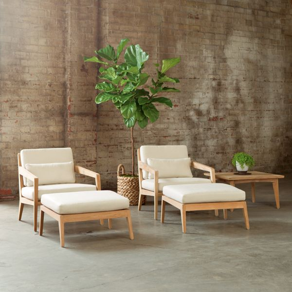 Drift Collection Lounge Chairs With Ottomans With Images Luxury Outdoor Furniture Indoor Furniture Summer Living