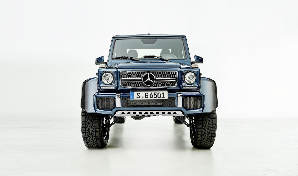 The Mercedes Maybach G 650 Landaulet Is The Height Of Vehicular