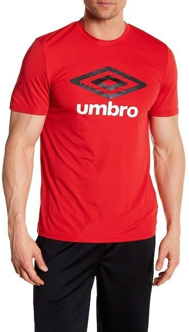 faa31aa0cd Umbro Short Sleeve Front Graphic Logo Print Tee in 2019 | Products ...