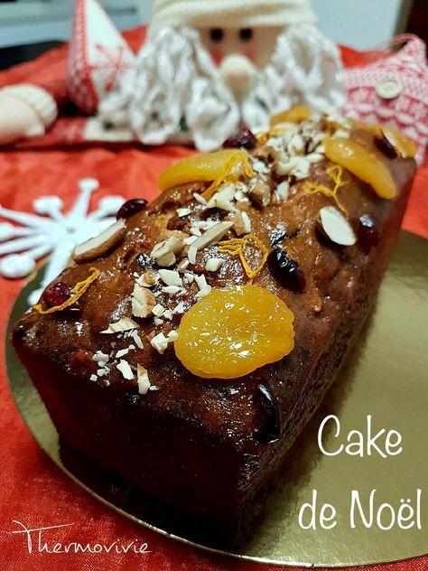 cake de noël, recette au thermomix | thermomix | pinterest