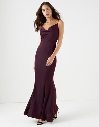 3cf61786b11b Lipsy Cowl Neck Maxi Dress | Gowns | Lipsy dresses, Dresses, Going ...
