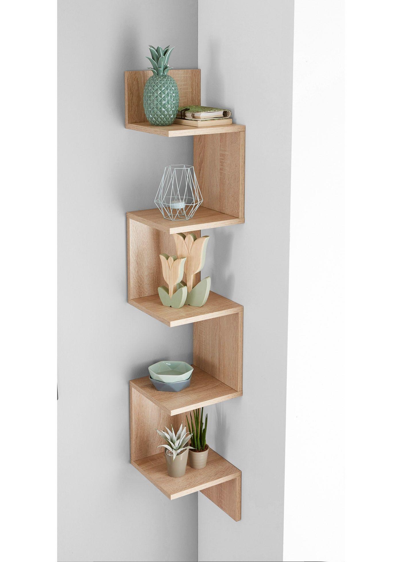 eckregal rico sonoma eiche bpc living jetzt im online shop von ab 79 99. Black Bedroom Furniture Sets. Home Design Ideas