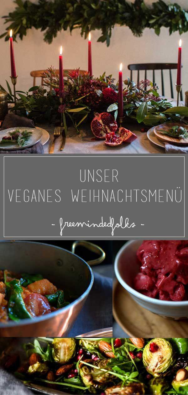 Photo of Weihnachten // Veganes Weihnachtsmenü