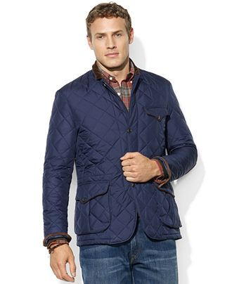 Polo Ralph Lauren Cadwell Quilted Bomber Jacket Wardrobe