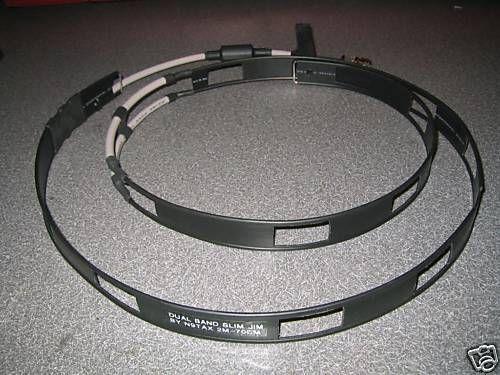 Authentic N9tax Vhf Uhf Slim Jim J Pole Dual Band 2m 70cm