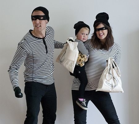 family bandits costume halloween