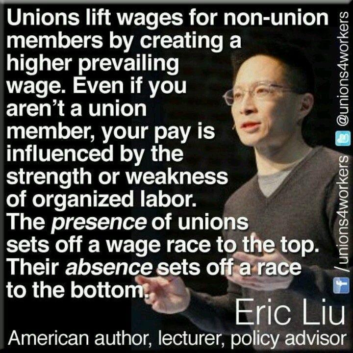 Unions. We need them!