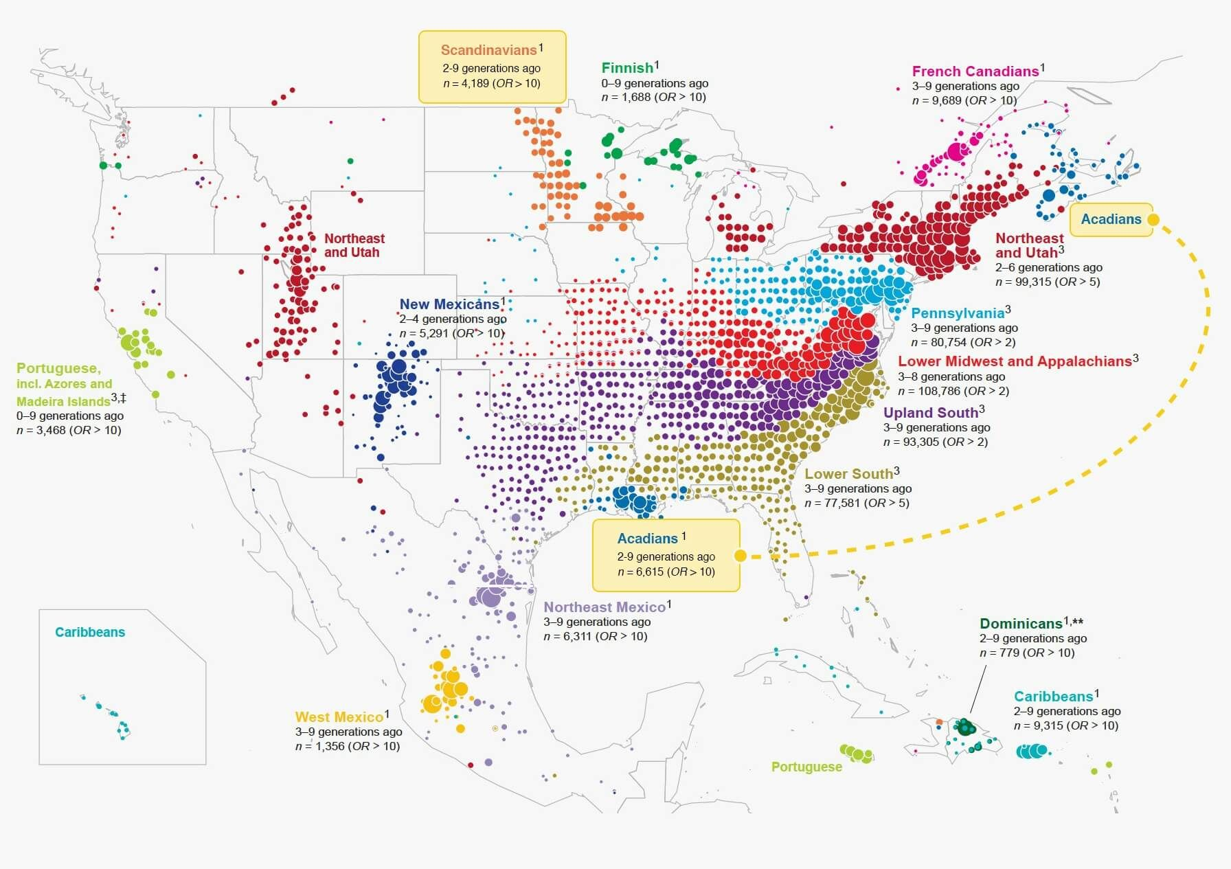 What 770 000 Tubes Of Saliva Reveal About America