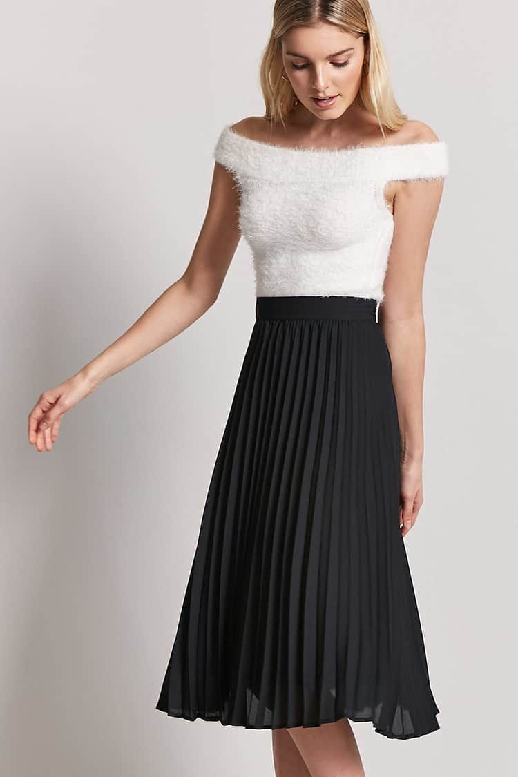 Product Name Accordion Pleated Skirt Category Bottoms Price 19 9 Accordion Skirt Pleated Skirt Outfit Pleated Skirt [ 1125 x 750 Pixel ]