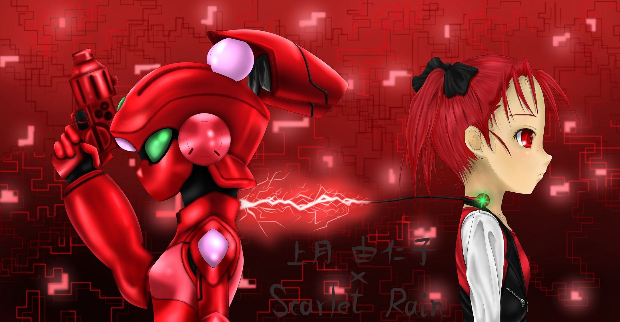 Anime Accel World Yuniko Kouzuki Scarlet Rain Wallpaper