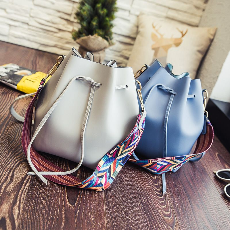 8e70139696 high quality handbag ladies  handbags at low price. 2017 Women Bucket Bag  Samantha Luna Style ...