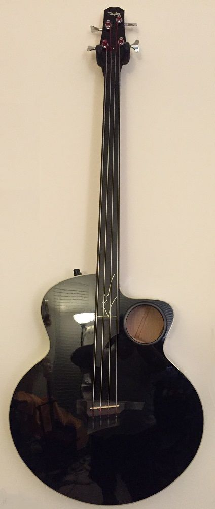 1998 taylor ab 3 fretless acoustic bass guitar bass guitars along with any other kind of bass. Black Bedroom Furniture Sets. Home Design Ideas