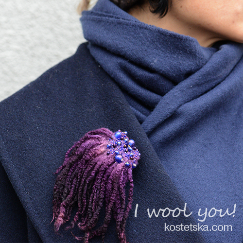 Photo of Purple – Wool Clothing & Accessories