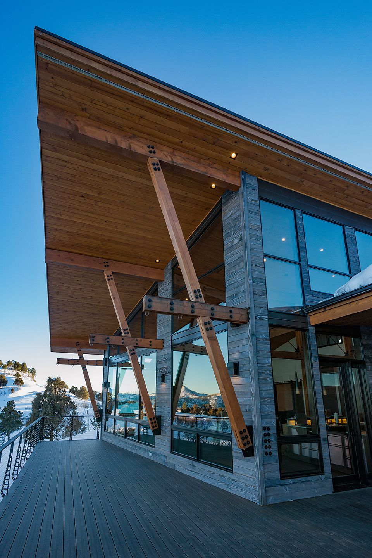Colorado Bauhaus Custom Home Photo Gallery House floor