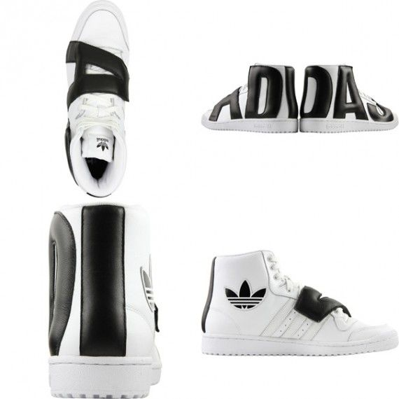 0d11f61dcd78 adidas Originals by Jeremy Scott - JS P Letters Leather. WHY JEREMY  WHY