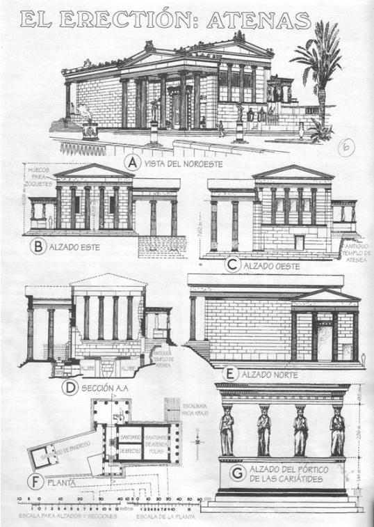 Planta Erecteion Buscar Con Google Grecia Arquitectura Arquitectura Griega Antigua Arquitectura Griega