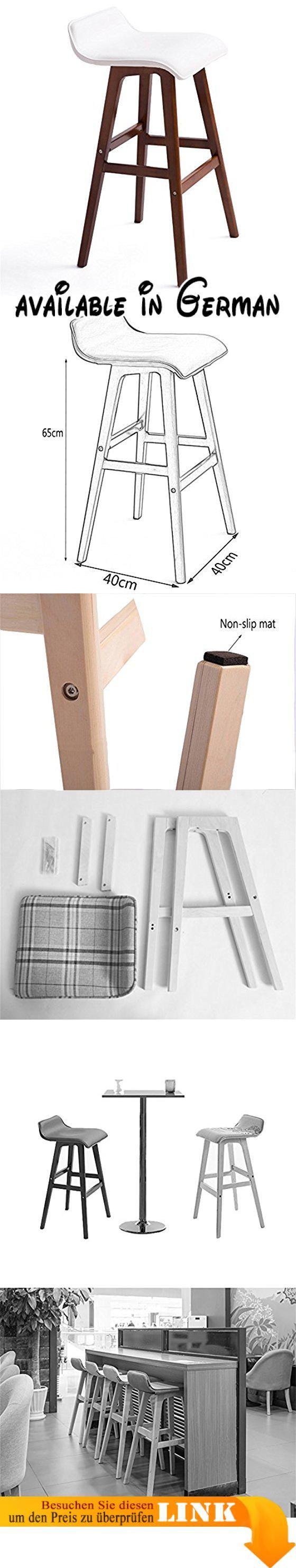 B0777TY79L : ZRX-Barhocker Mode Holz Sitz Runder Stuhl Hocker Bar ...