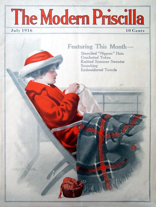 November, 1925 cover of Modern Priscilla magazine