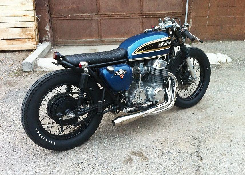 honda cb four cafe racer | cool motorbikes | pinterest | honda cb