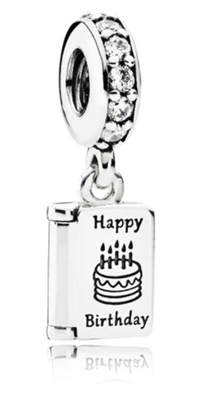 Pandora Happy Birthday Charm Pandora Charms Disney Birthday Charm Happy Birthday