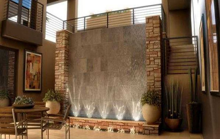 modern indoor water fountain - Interior Wall Water Fountains