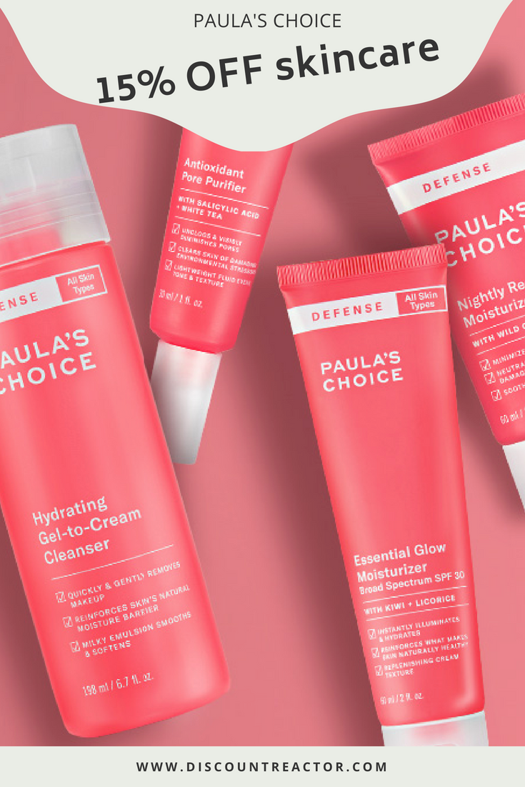 Hurry Up To Apply 15 Discount Code Shop Skincare Products From Paula S Choice Beautydeals Skincare Coupon Paula S Choice Skincare Skin Care Beauty Deals