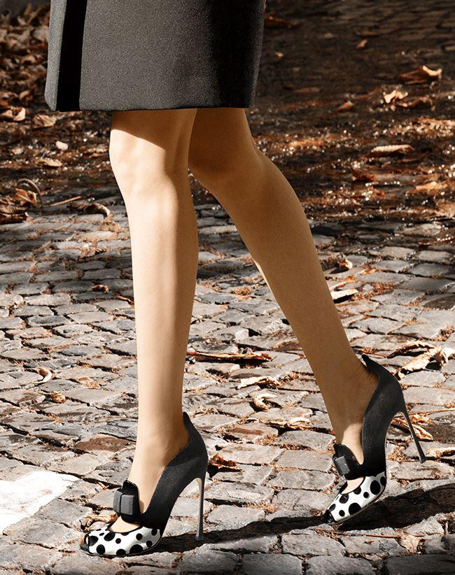 A Step Into #AnyaZiourova #pfw #ss2015 #MiuMiu