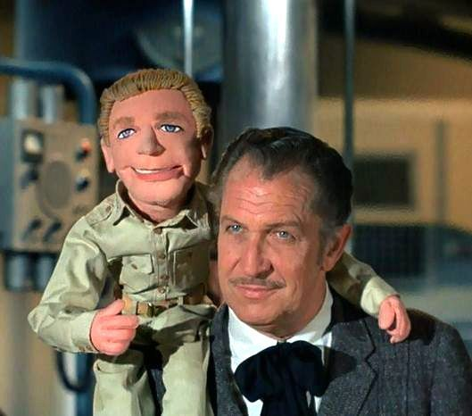 Vincent Leonard Price: Guest starred on Voyage to the Bottom of the Sea