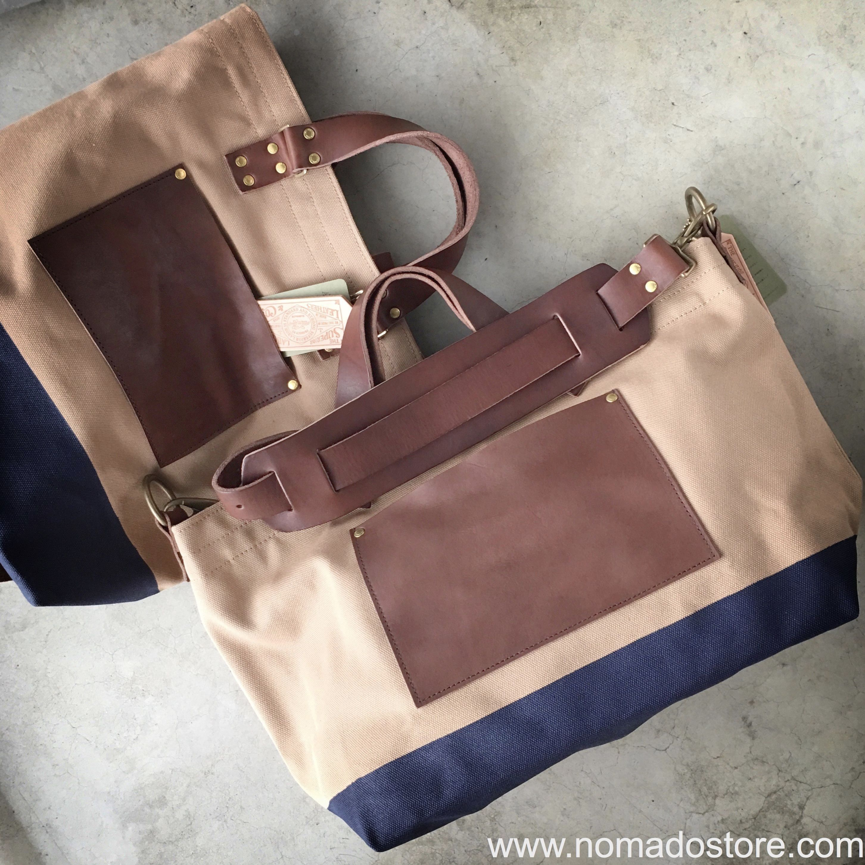 36385b8452 One of our best-selling bags, the beige/navy #superiorlabor Engineer  Shoulder Bag S is back in stock, but this time you can also get this colour  combo in ...