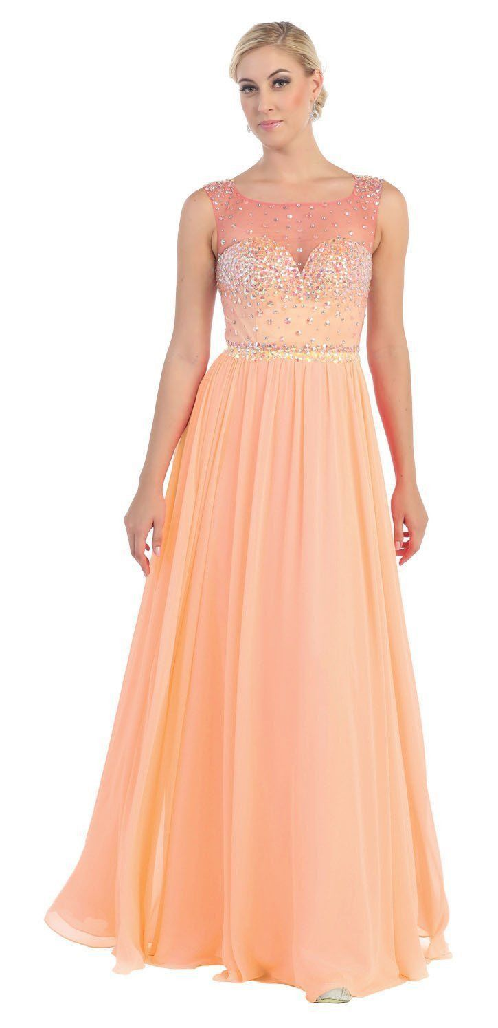 Dress for wedding evening party  Long Sequins Formal Chiffon  Prom Dress  Evening party Prom