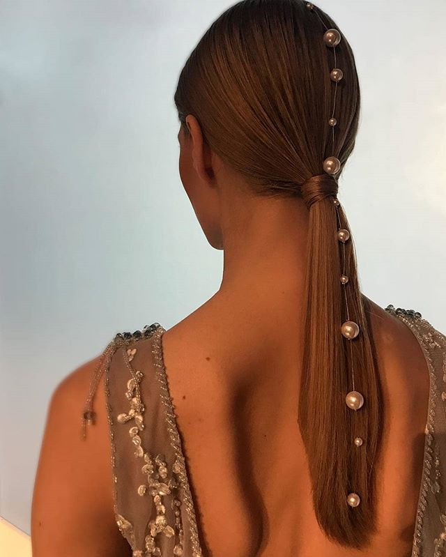 Ghd Australia And New Zealand Sur Instagram Perfect Embellishments On A Sleek Look Styled By The Fab Patrickwilson Using Hair Styles Ghd Hair Hairstyle