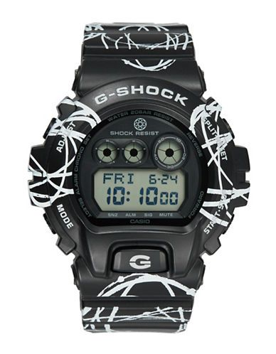 G-Shock Casio Swirl Resin Watch Men's Black
