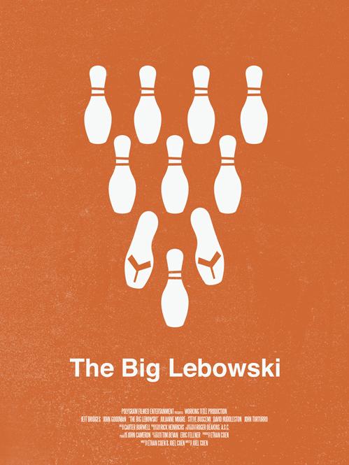 Alternative Lebowski posters FTW.
