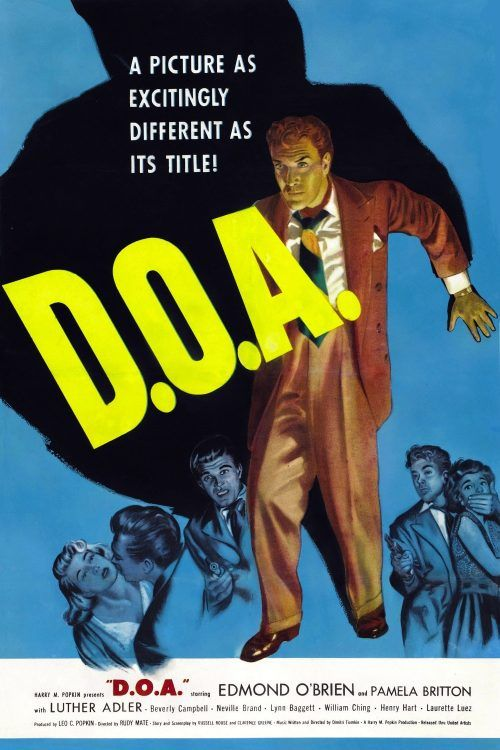 Poster For The Movie D O A 映画 ポスター ポスター 映画