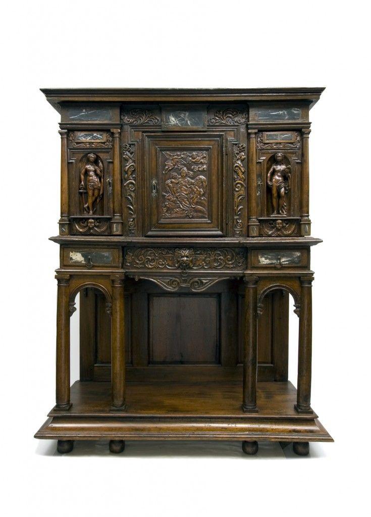 Important Renaissance Cabinet French Ca 1650 Meuble De Style Mobilier De Salon Meuble Vintage