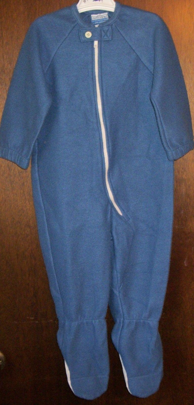 Boys Blanket Sleeper sz 4T AFTER THE STORK Solid Blue Polyester Fleece NWT  | Blanket sleeper, Boy blankets, Fleece