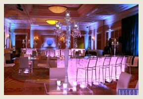 These lighted tables will be a hit at your next meeting or event.  #Desintation Management #Decor #Event #Party #Event Furnishings  #Meeting Planners #Las Vegas www.baskow.com