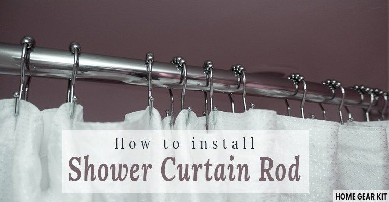 Shower Curtain Rods Are Used To Hang The Curtain And Prevent Water