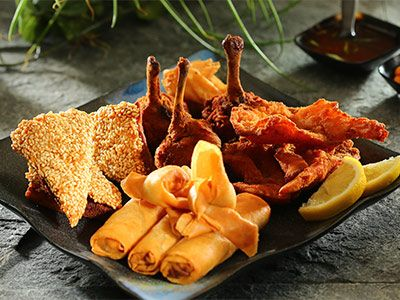 China Garden Hawally Kuwait China Garden Menu Online Delivery Talabat Com Mixed Appetizer Sample With Images Food Order Food Menu