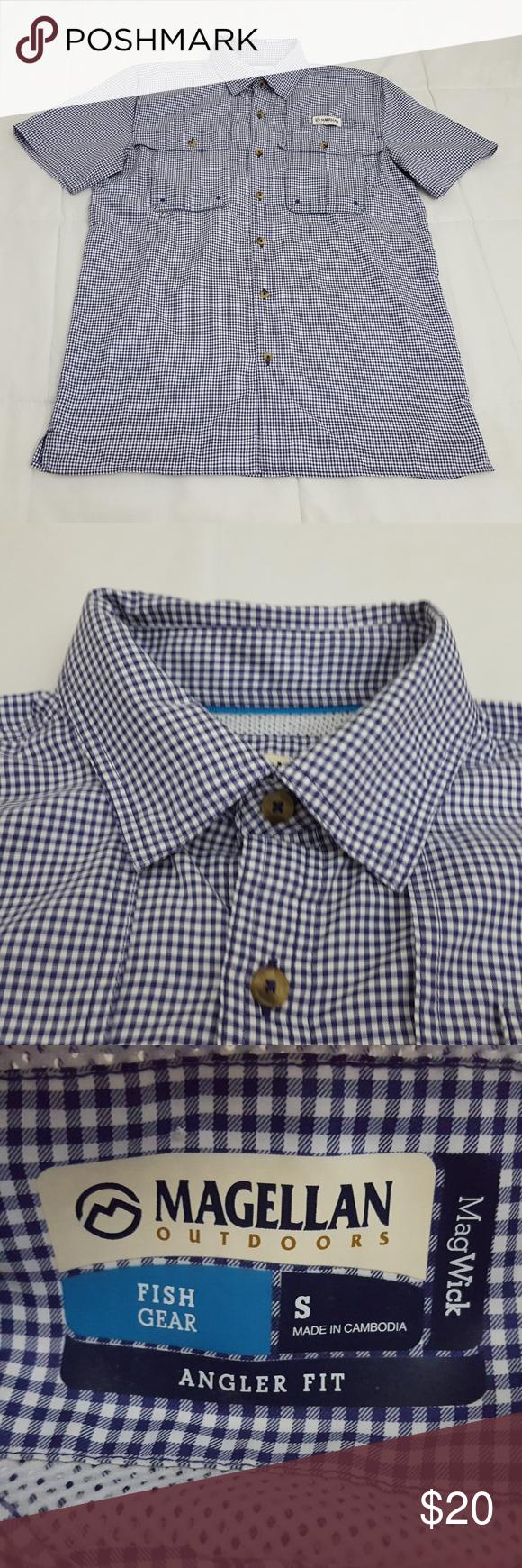 magellan angler fit fishing shirt - 580×1740