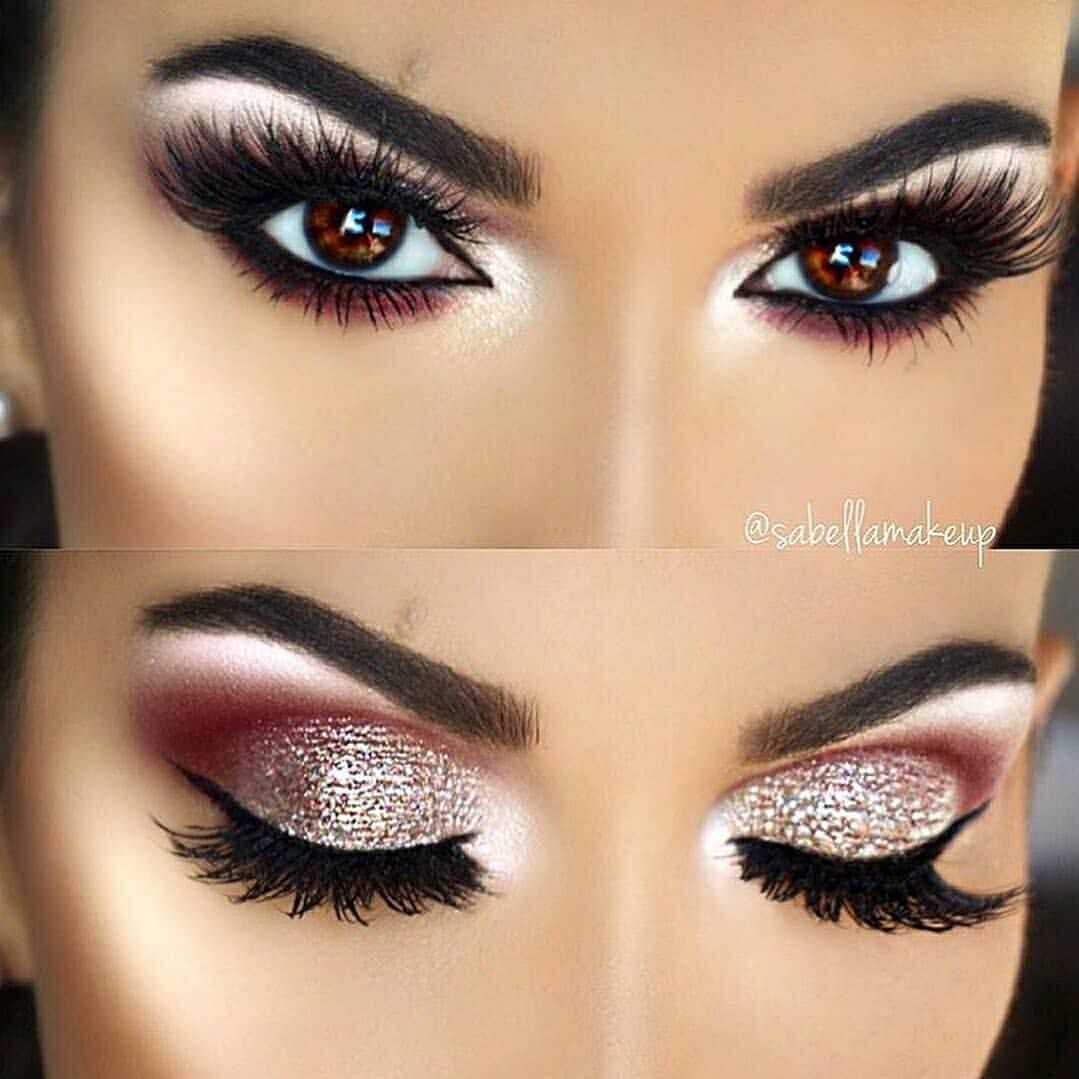Make Up Vibe 90k En Instagram Memrvk Gorgeous Which One Is Your Favourite 1 2 3 4or 5 Swipe To Eye Makeup Brushes Makeup Eyeliner Makeup [ 1079 x 1079 Pixel ]