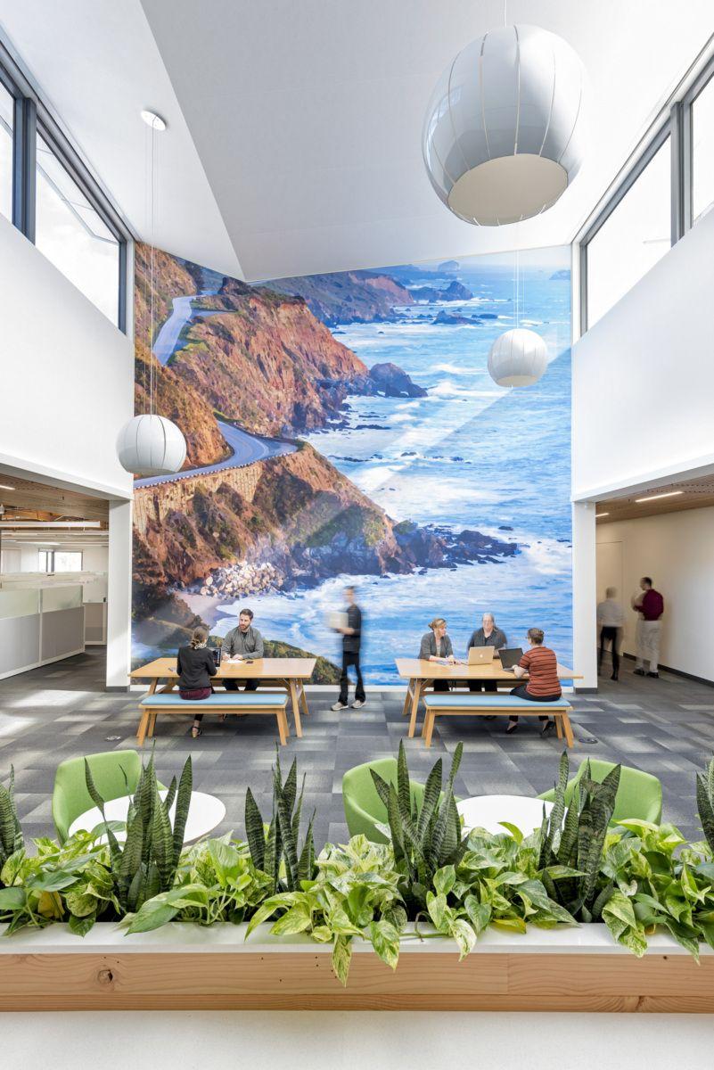 Office Tour Xilinx Headquarters Renovation San Jose Graphics