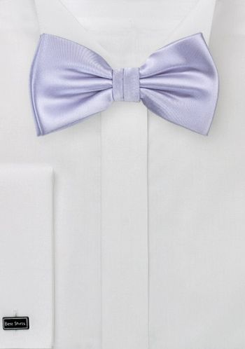 Herrenschleife Strahlendes Zartviolett Kunstfaser Lila Fliege Lila Farbe Und Lila