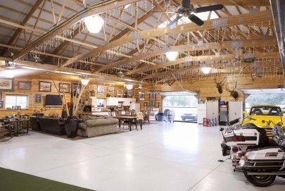 3709 04 Barn Garage House Rv Garage Garage Workshop