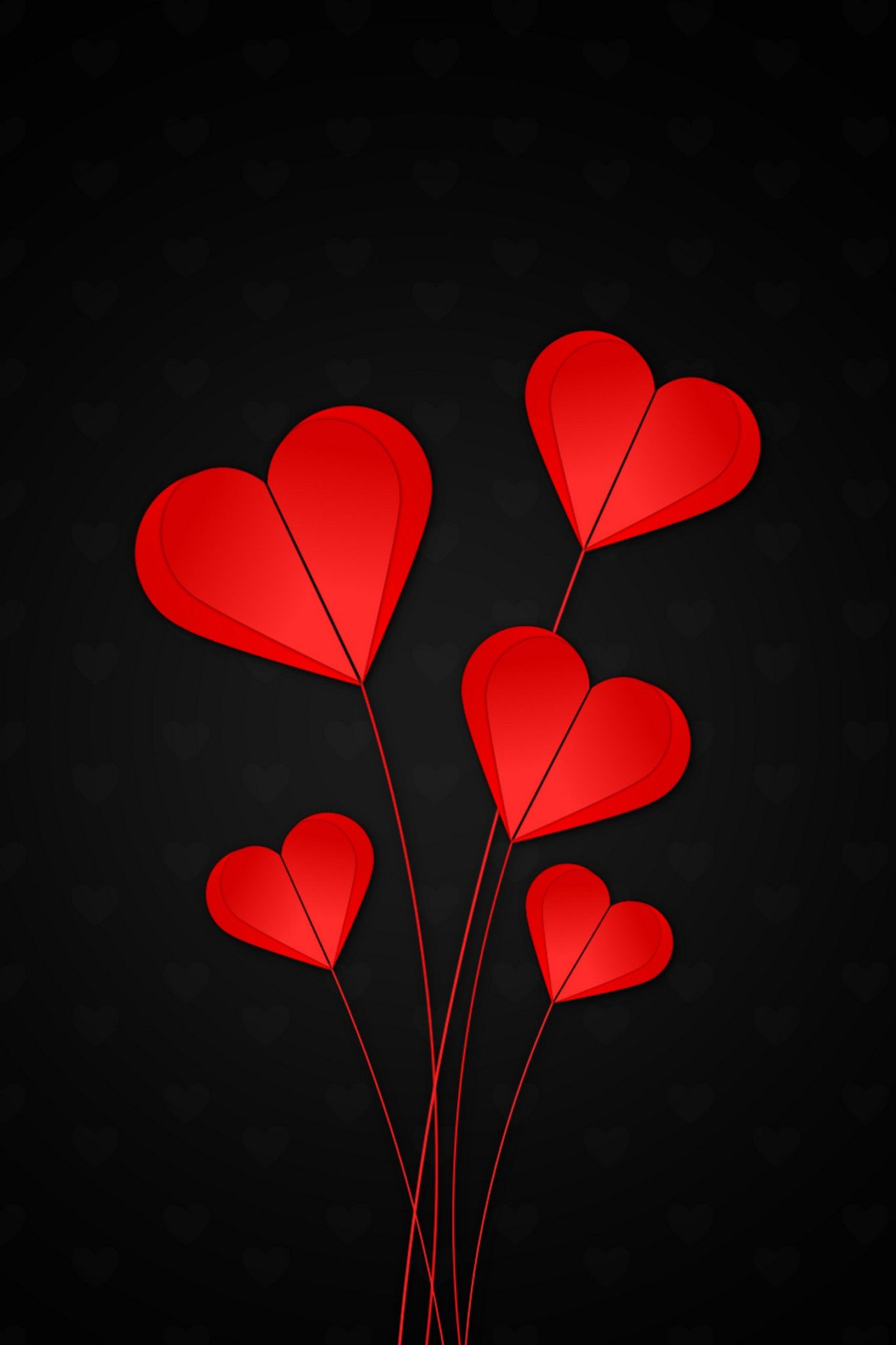 Hearts Red Black Background 120112 1350x2400 In 2021 Heart Iphone Wallpaper Red And Black Background Heart Wallpaper Iphone heart wallpaper hd 1080p free