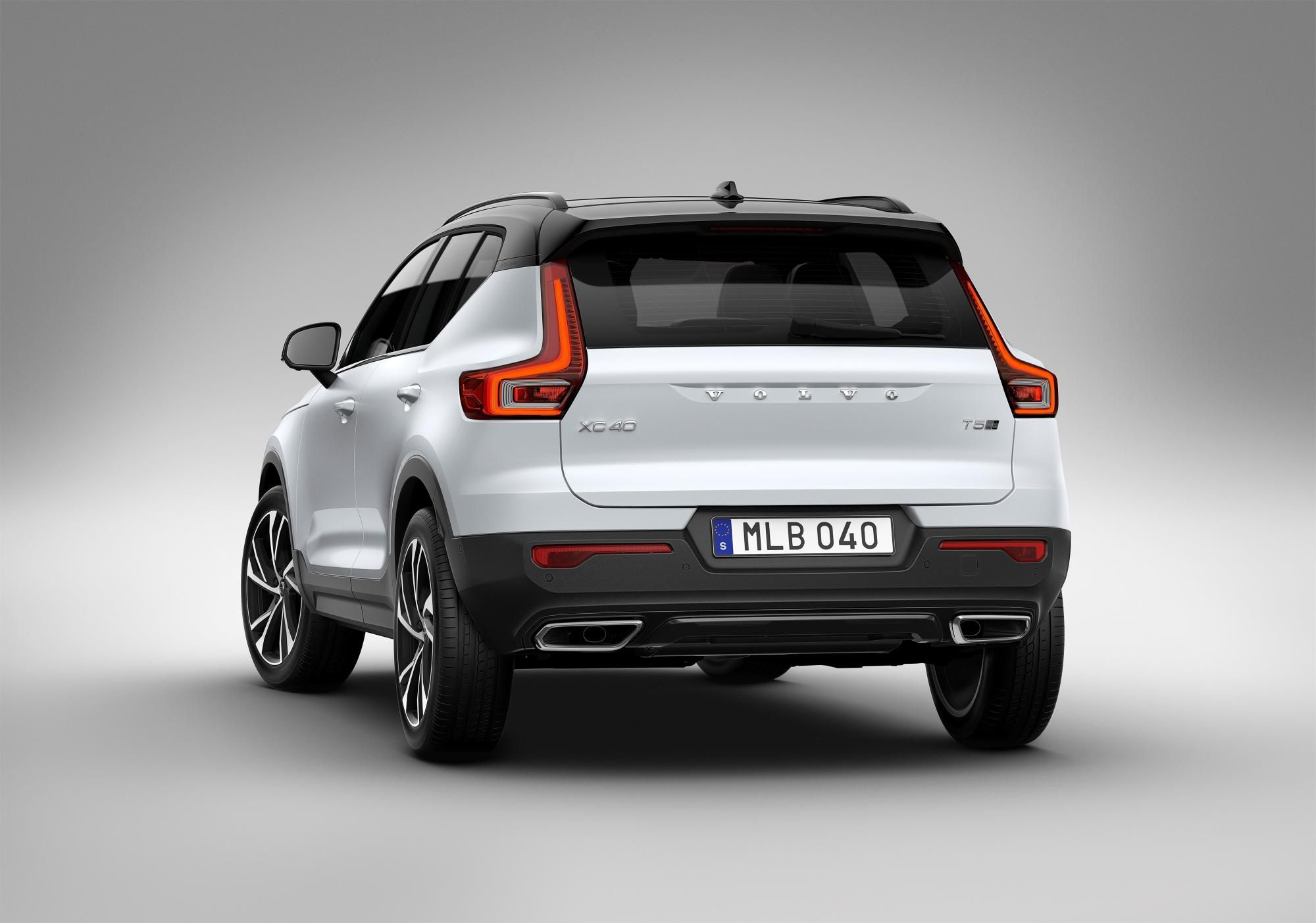 Volvo introduces its first compact SUV, the XC40 Volvo