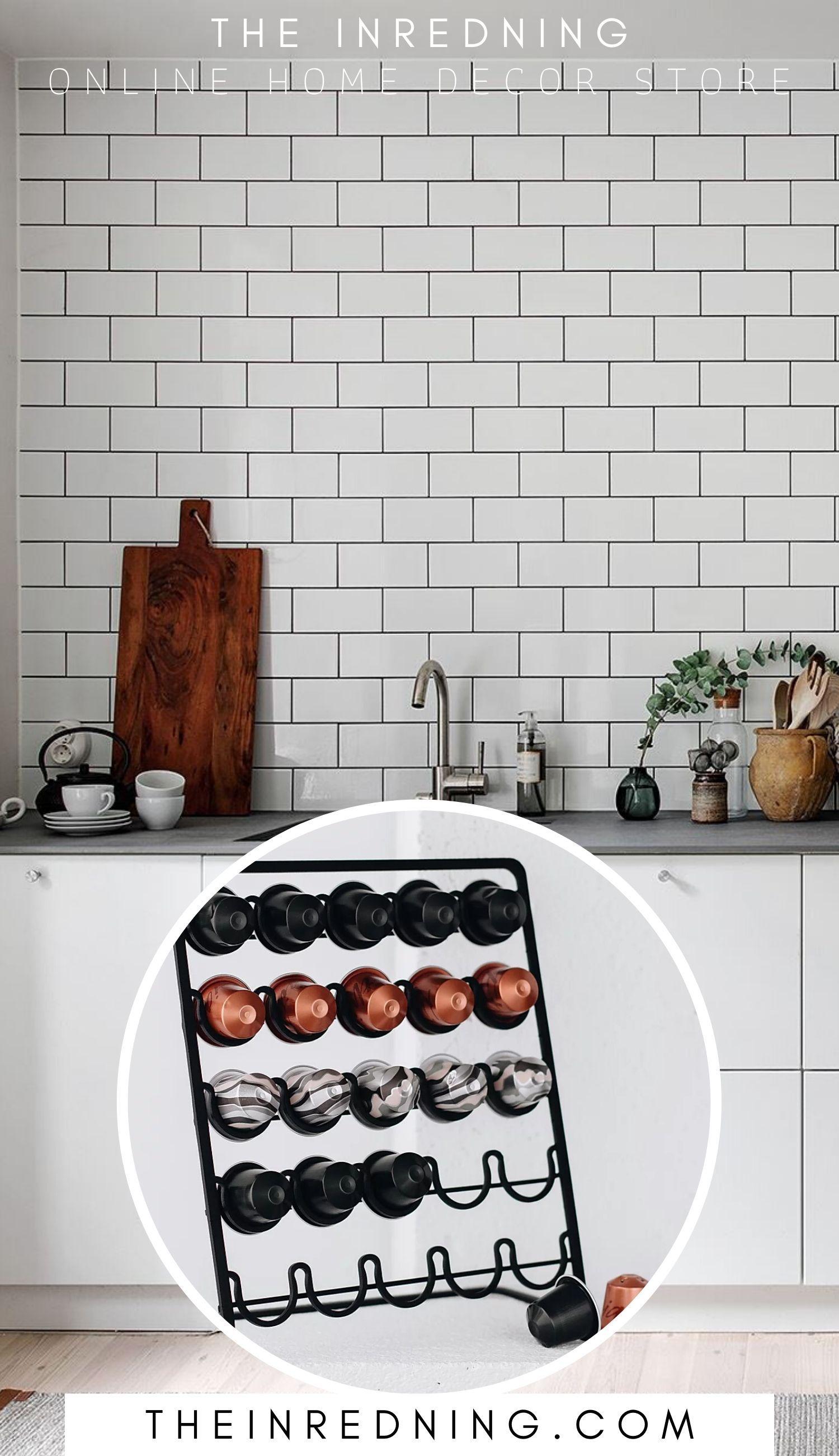 Photo of Nespresso Kapselhållare till Mässing och Koppar Inredning