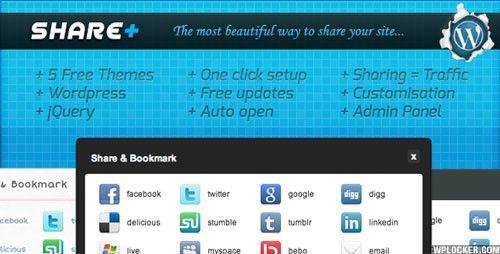 Download SharePlus (+) : WordPress Plugin version1.5  - http://wordpressthemes.me/download-shareplus-wordpress-plugin-version1-5/