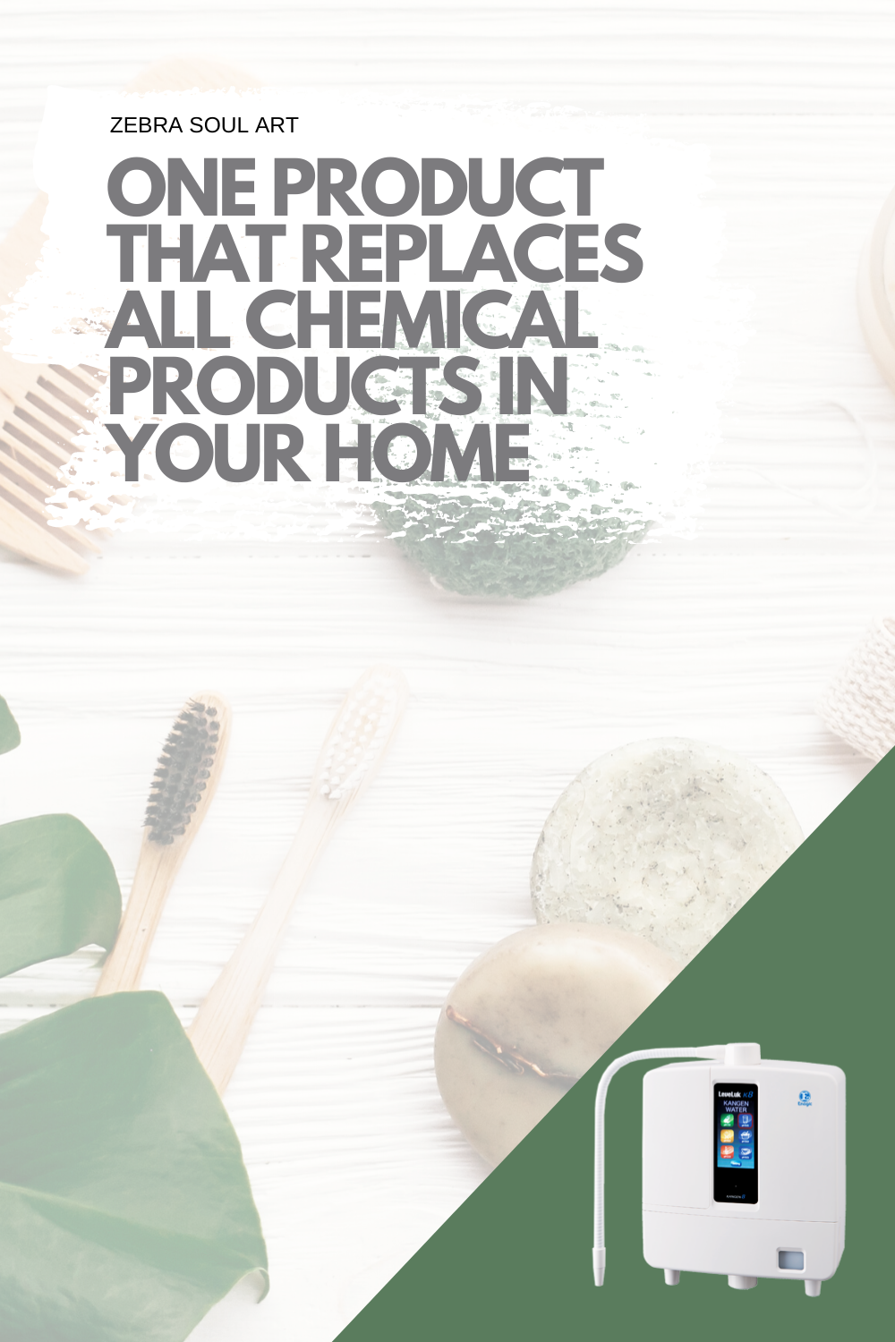 Leveluk K8-One Product that replaces all chemical products in your household