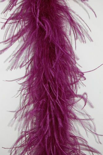 LAVENDER 2 Yards; Costumes//Hats//Craft//Bridal//Dress 2 Ply OSTRICH FEATHER BOA